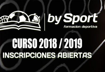 abierto el Plazo de Inscripción para el Nuevo Curso 2018/19